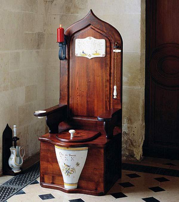 Herbeau Dagobert Wooden Toilet Throne The Green Head