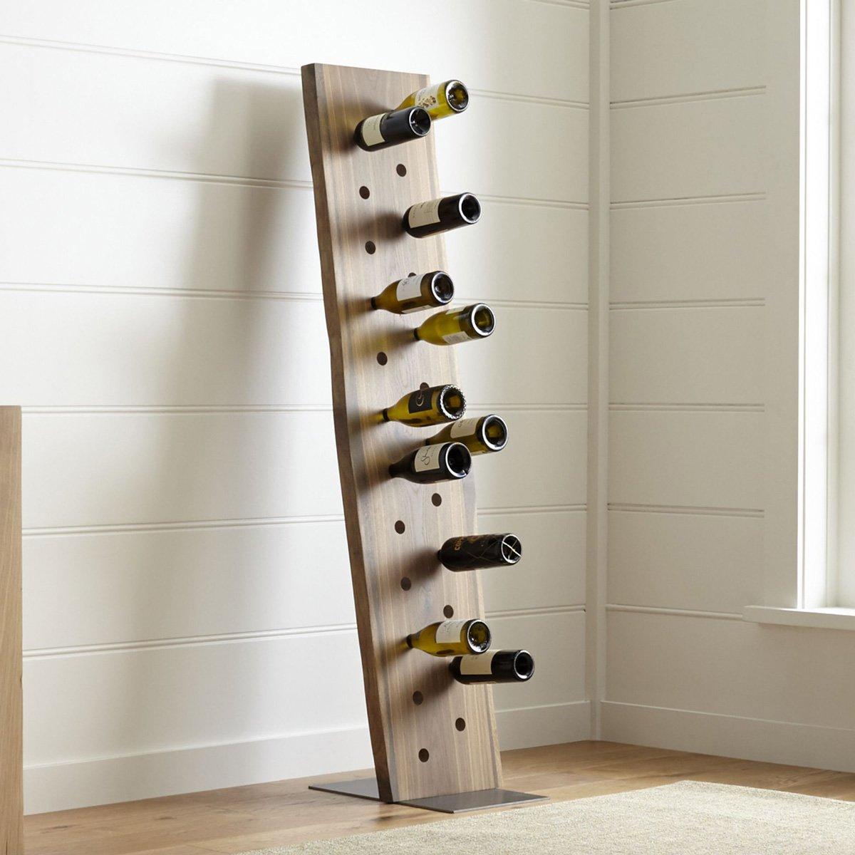 Dakota 24 Bottle Leaning Wine Rack Thegreenhead Com