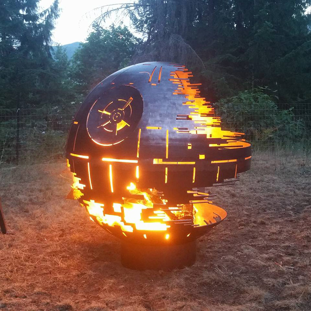 Death Star Ii Fire Pit The Green Head
