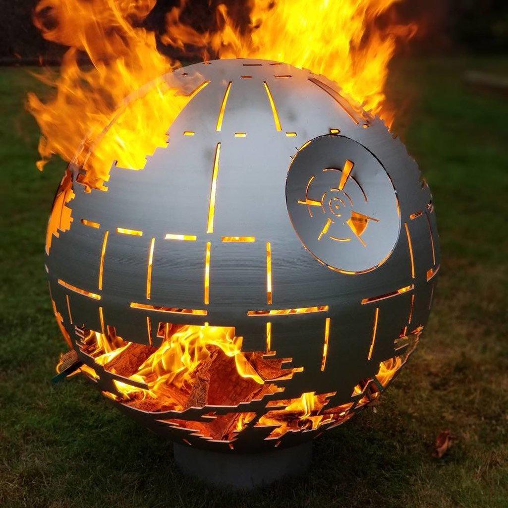 Death Star Ii Fire Pit