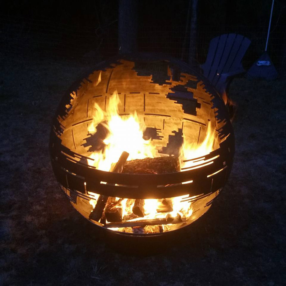 Star Wars Death Star Fire Pit Part - 16: Death Star II Fire Pit