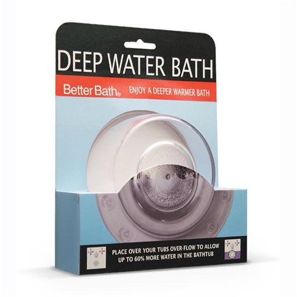 Deep Water Bath Allows 60 More Water