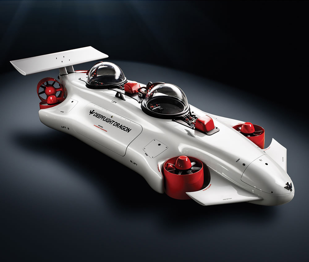 DeepFlight Dragon - World\'s Easiest to Pilot Personal Submarine ...