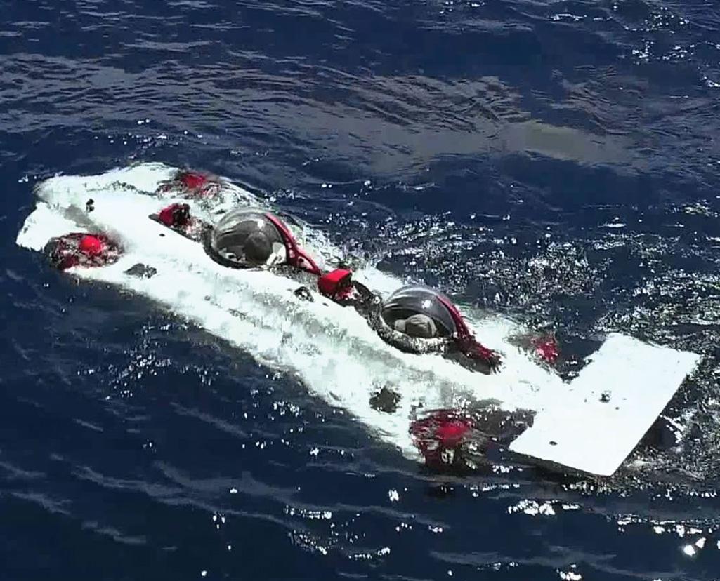 DeepFlight Dragon - World\'s Easiest to Pilot Personal Submarine ...