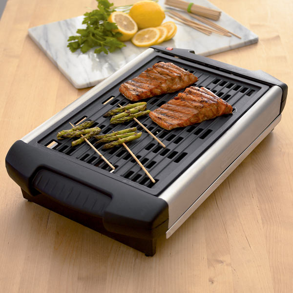 DeLonghi - Smokeless Electric Indoor Grill - The Green Head