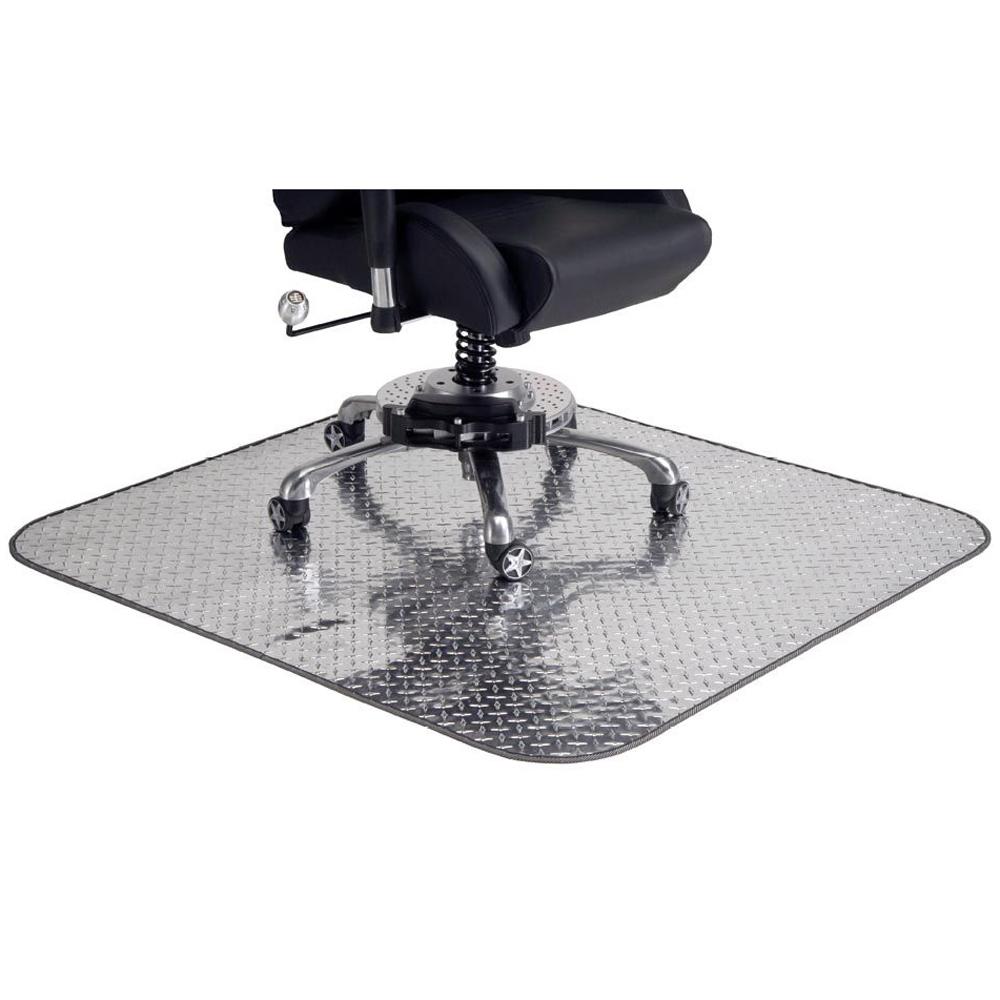 Diamond-Plate Chair Mat