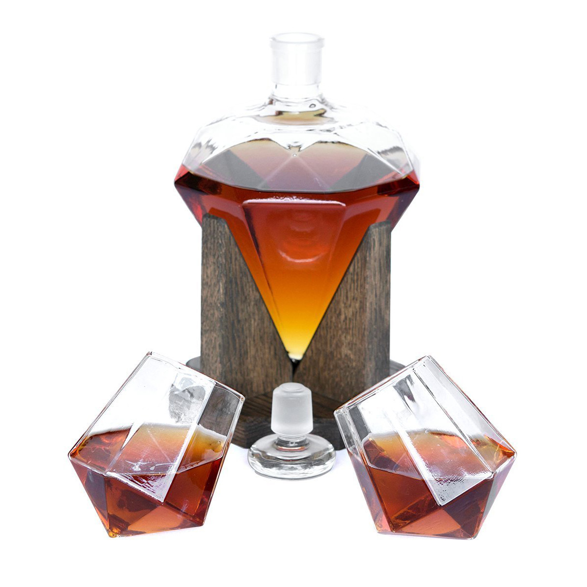 Glass Alcohol Decanter