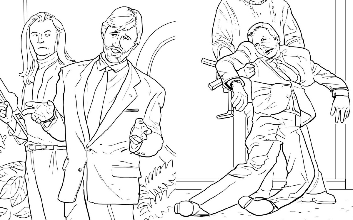 Die Hard Coloring Book - The Green Head