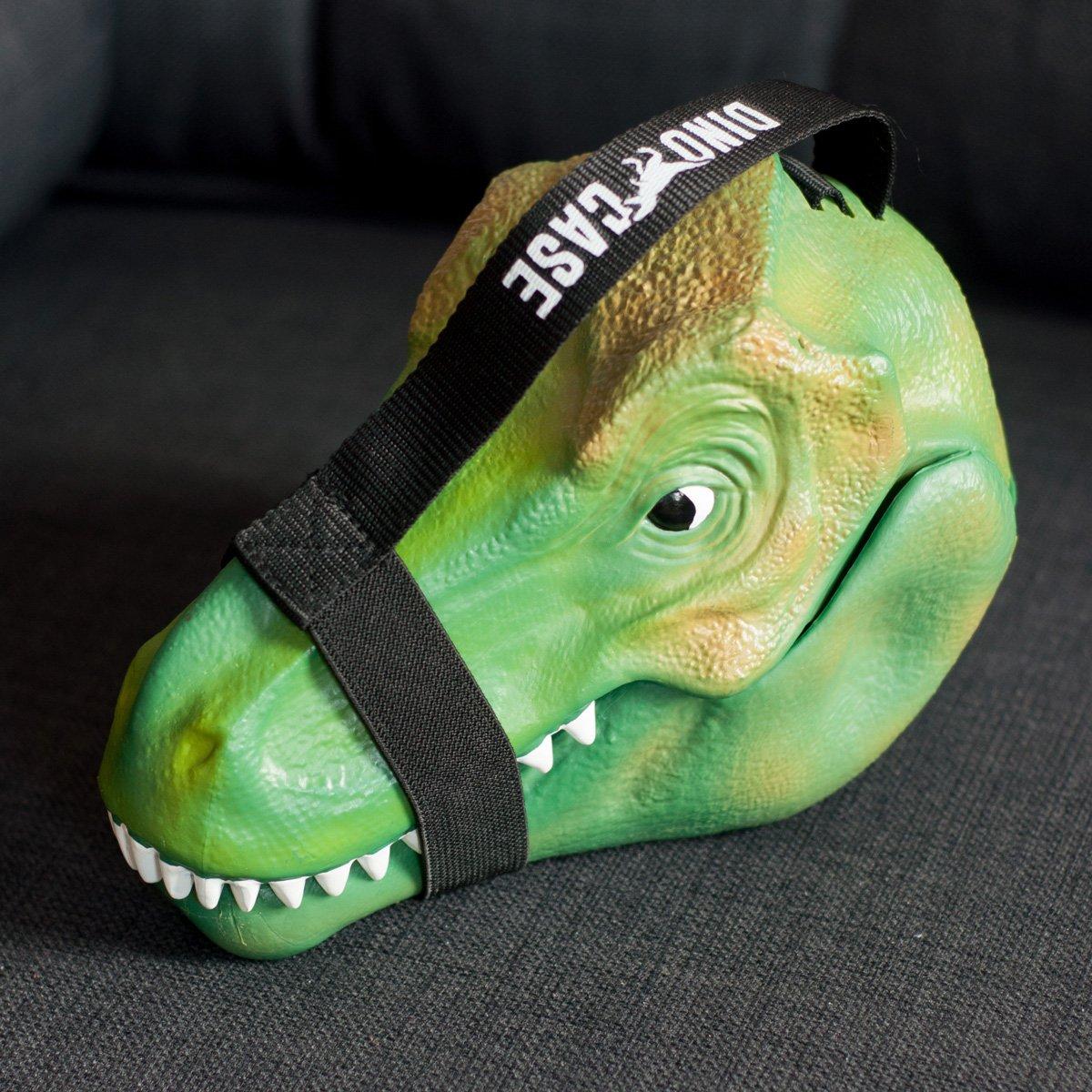 dino case - t-rex lunch box    storage case