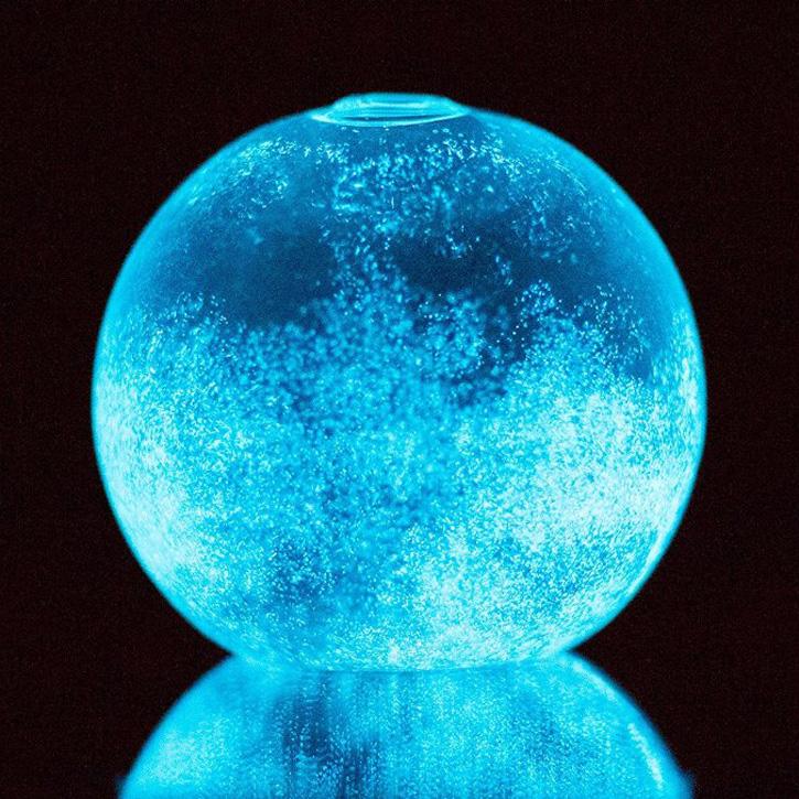 Bioluminescent Glass