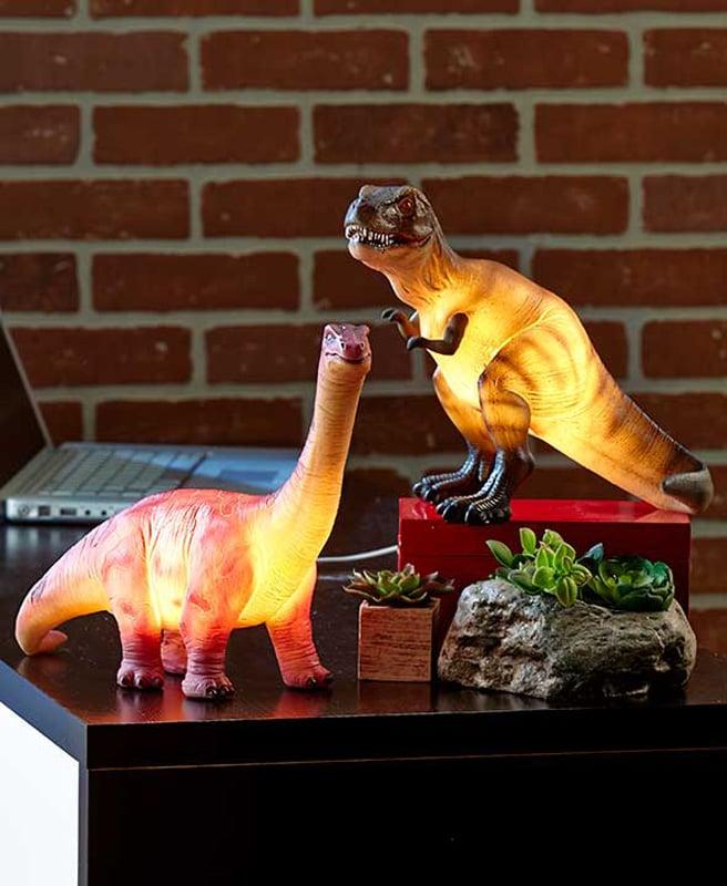 Dinosaur Lamps The Green Head