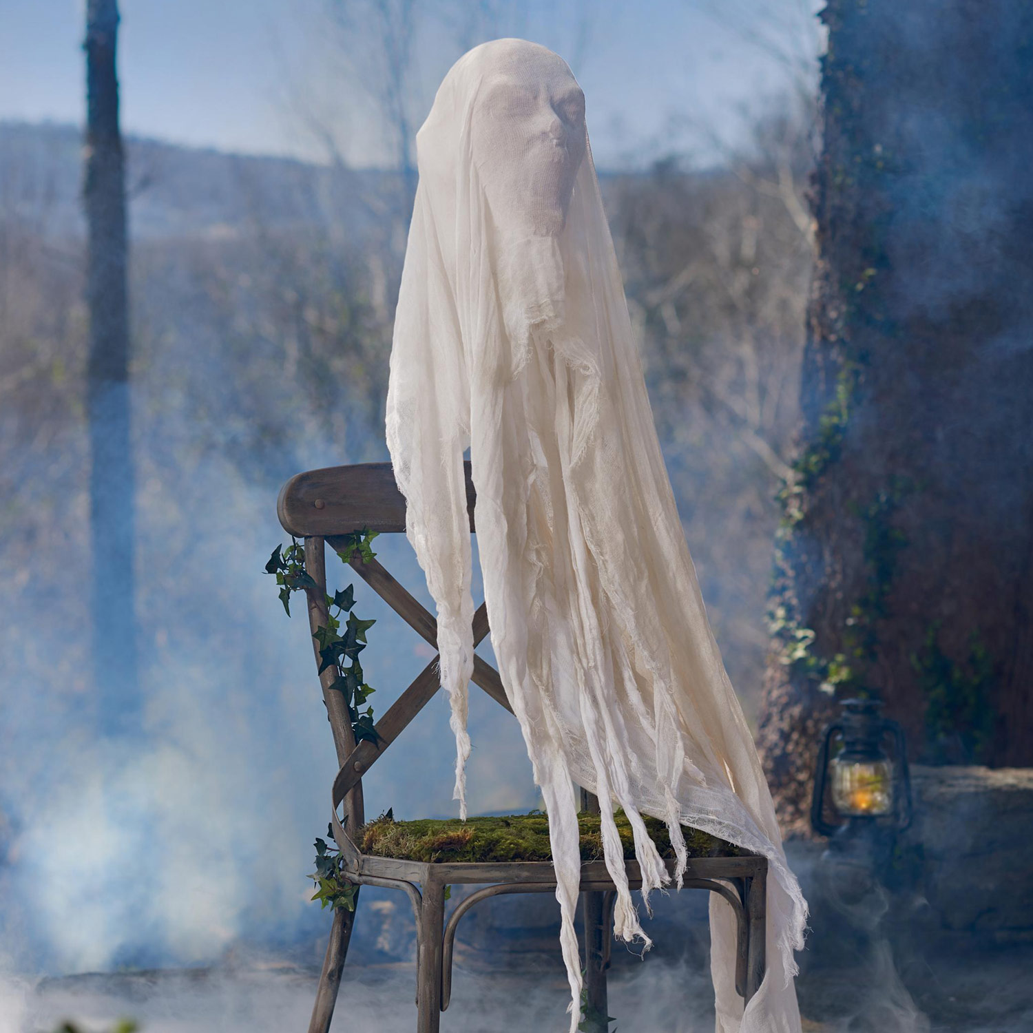 Disappearing Ghost Figure Illusion