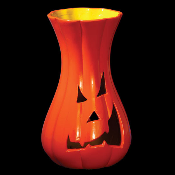 Distorted Gourd Pumpkin Candle Holders