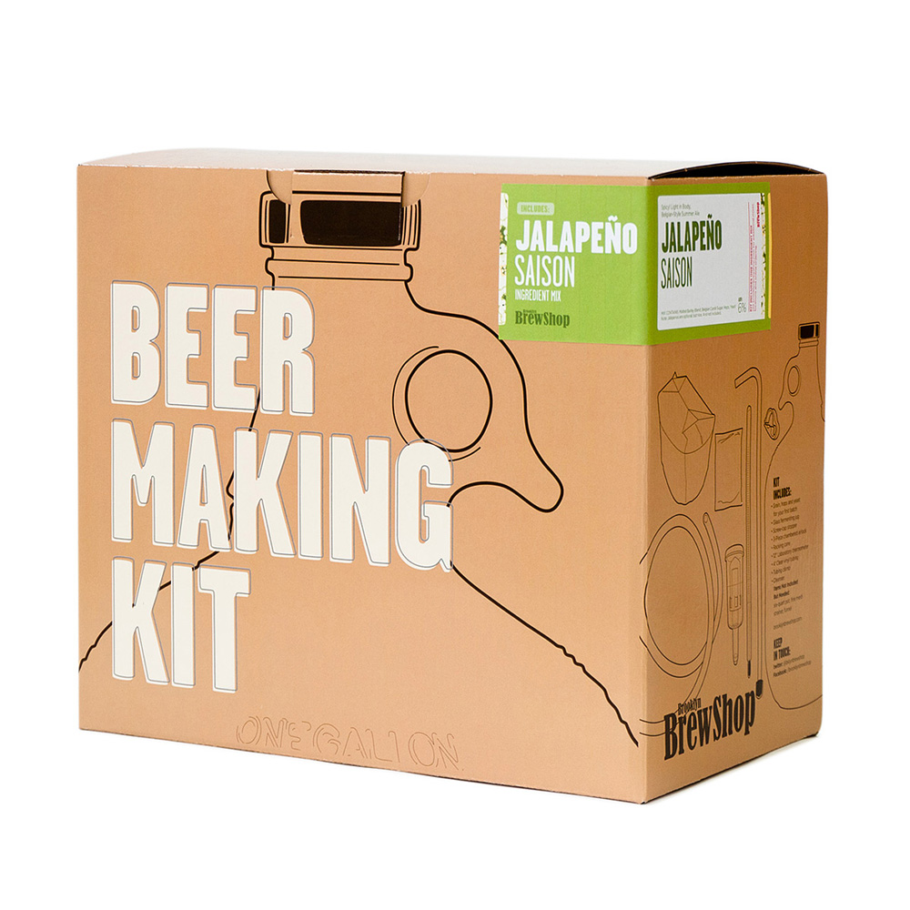 Diy beer making kits the green head for Diy pictures
