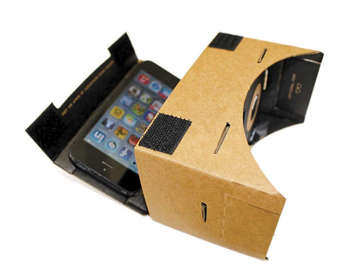 Dodocase Vr Cardboard Smartphone Virtual Reality Viewer