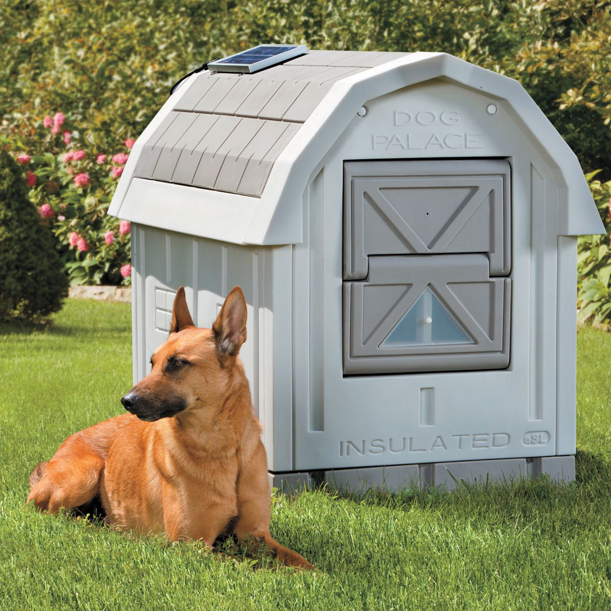 Insulated Outdoor Dog House Dog Palace Insulated Dog House The Green Head