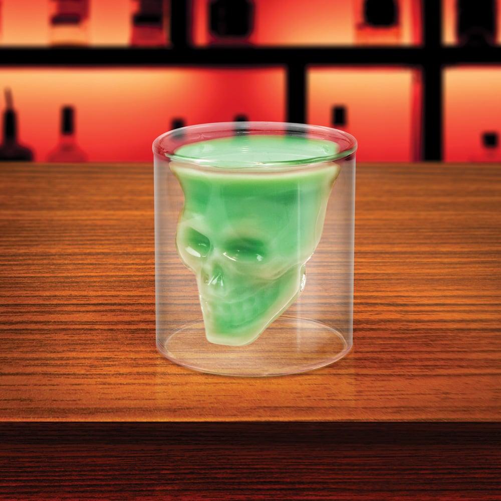 Doomed Skull Glass