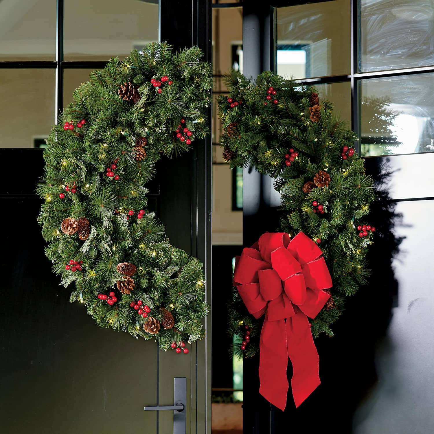 Double Door Wreath