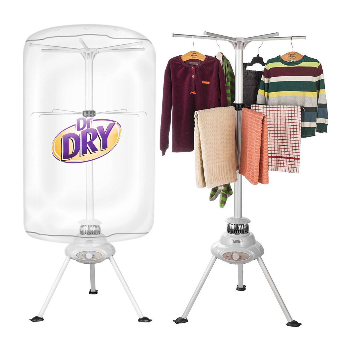 dr dry portable space saving clothes dryer. Black Bedroom Furniture Sets. Home Design Ideas