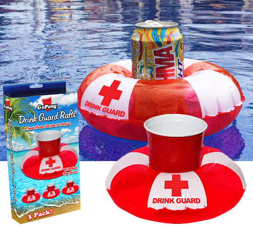 Drink Guards Inflatable Floating Drink Preservers