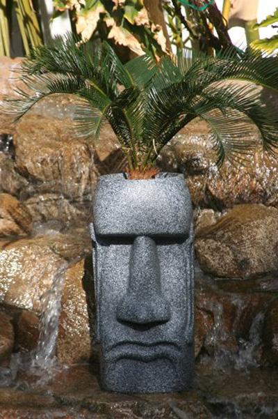 Easter Island Moai Head Planter The Green Head