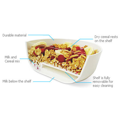 Eatmecrunchy cereal bowl no more soggy cereal the green head eatmecrunchy cereal bowl no more soggy cereal ccuart Choice Image