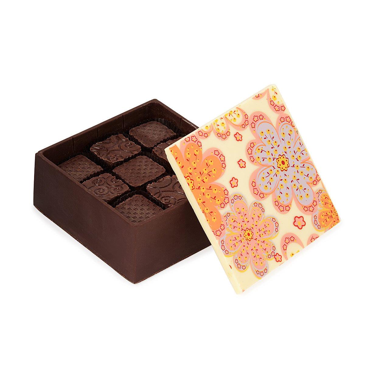 Edible Chocolate Box Of Chocolates