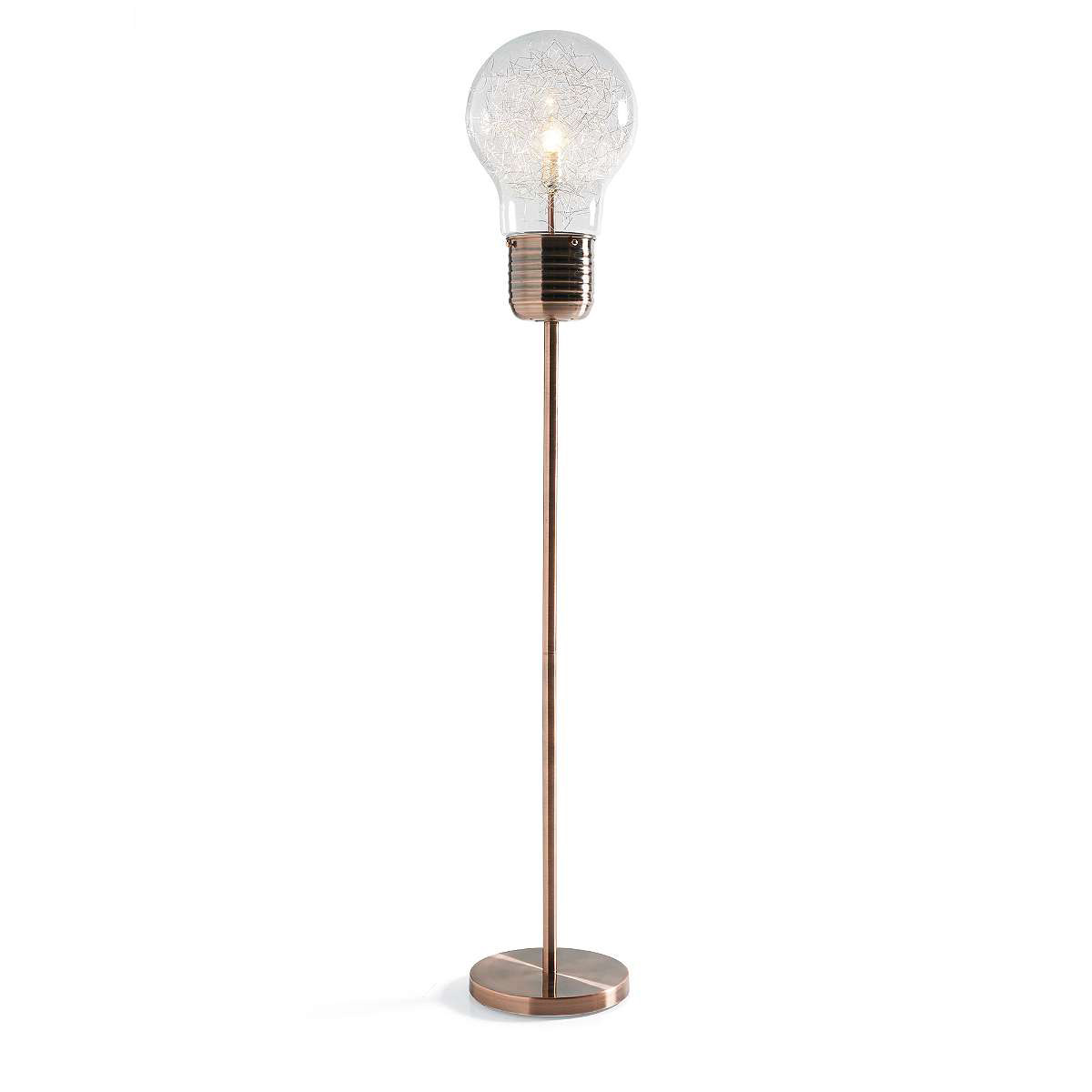 Edison Light Bulb Floor Lamp - The Green Head