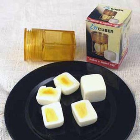 Egg Cuber Makes Square Eggs