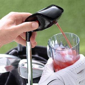 Electronic Drink Caddie Golf Club Drink Dispenser