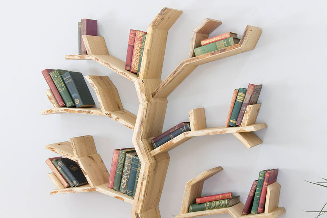 Elm Tree Bookshelf The Green Head