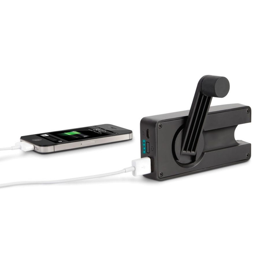... Crank / Rechargeable Emergency Cell Phone Charger - The Green Head