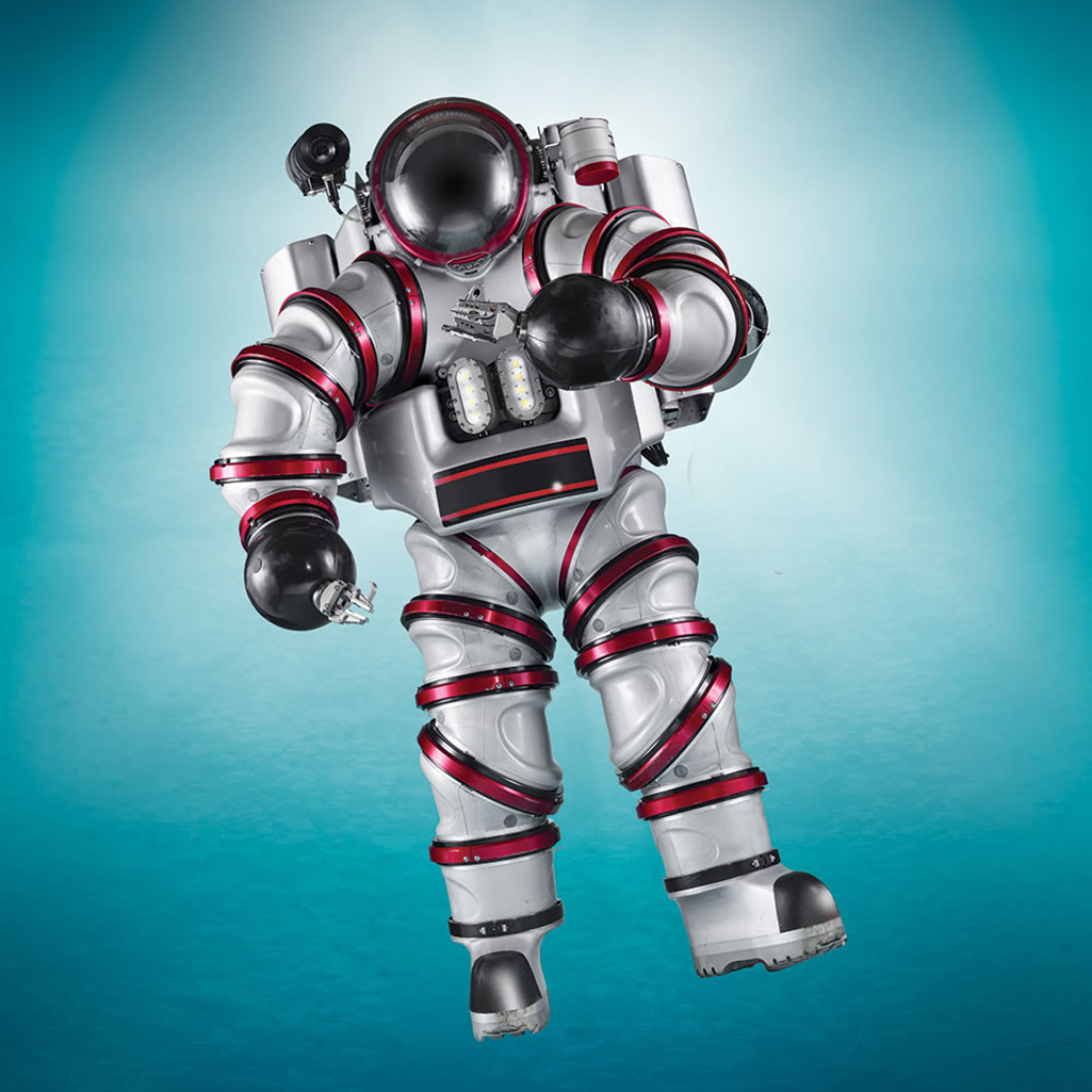 exosuit   self propelled atmospheric diving suit   the