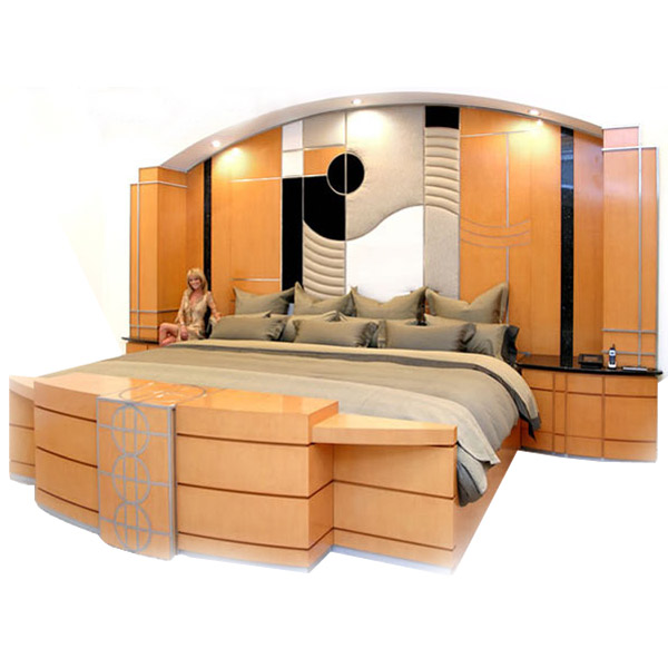 Extreme ultraking bed 12 foot wide x 10 foot long the for Foot of bed furniture