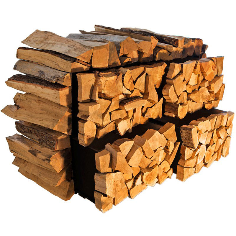 Facecord stack of firewood cabinet the green head