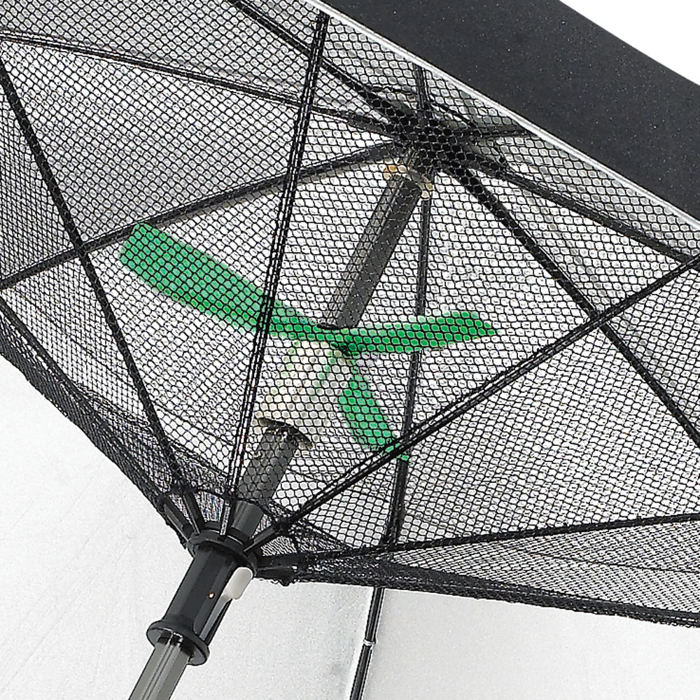 Fanbrella   UV Reflecting Umbrella With Motorized Fan