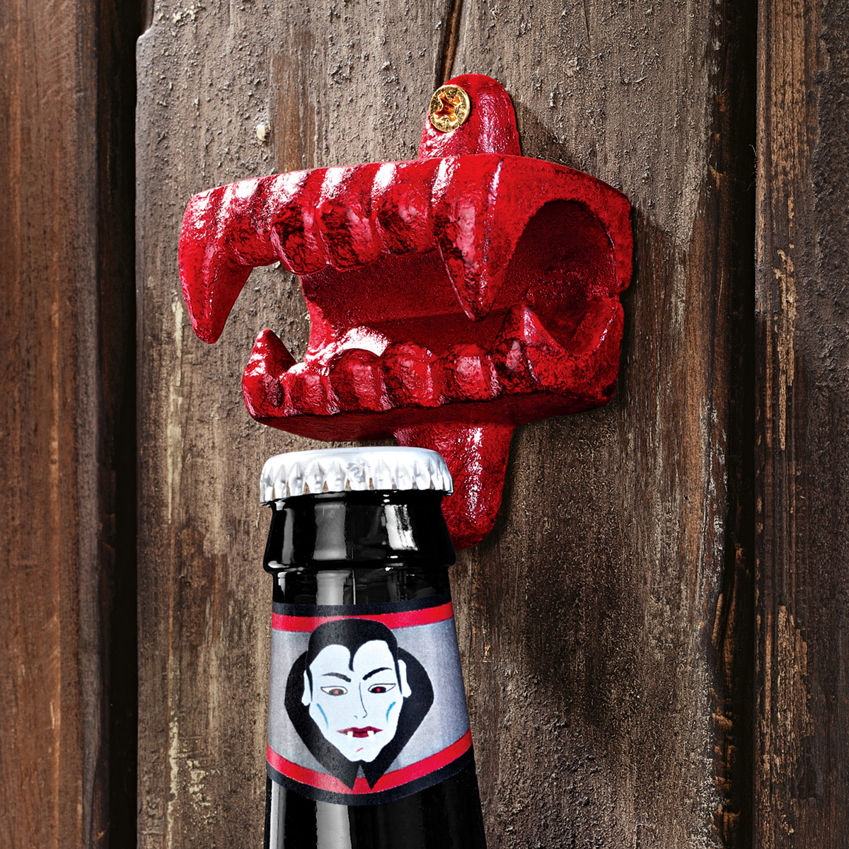 Fangs Of The Vampire Cast Iron Bottle Opener The Green Head