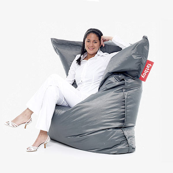 fatboy original beanbag chair the green head. Black Bedroom Furniture Sets. Home Design Ideas