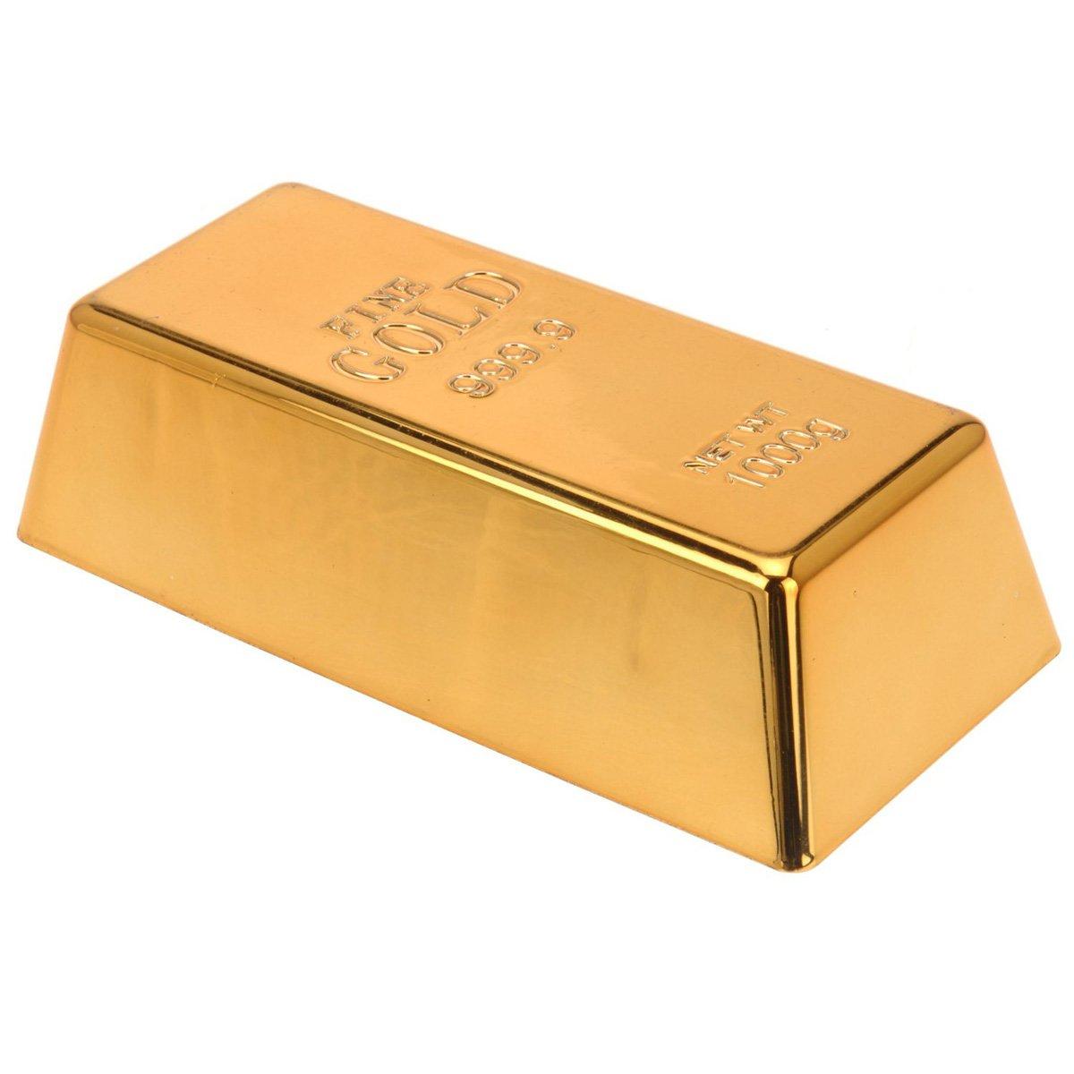 faux gold bar doorstop paperweight 5