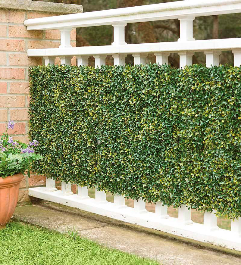 Faux Greenery Outdoor Privacy Panels The Green Head