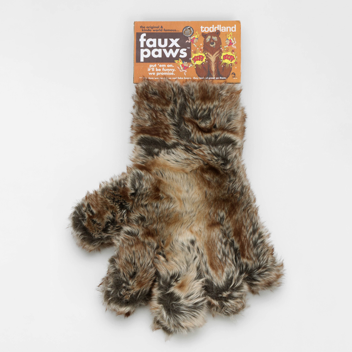 Faux Paws Giant Wearable Furry Bear Paws The Green Head