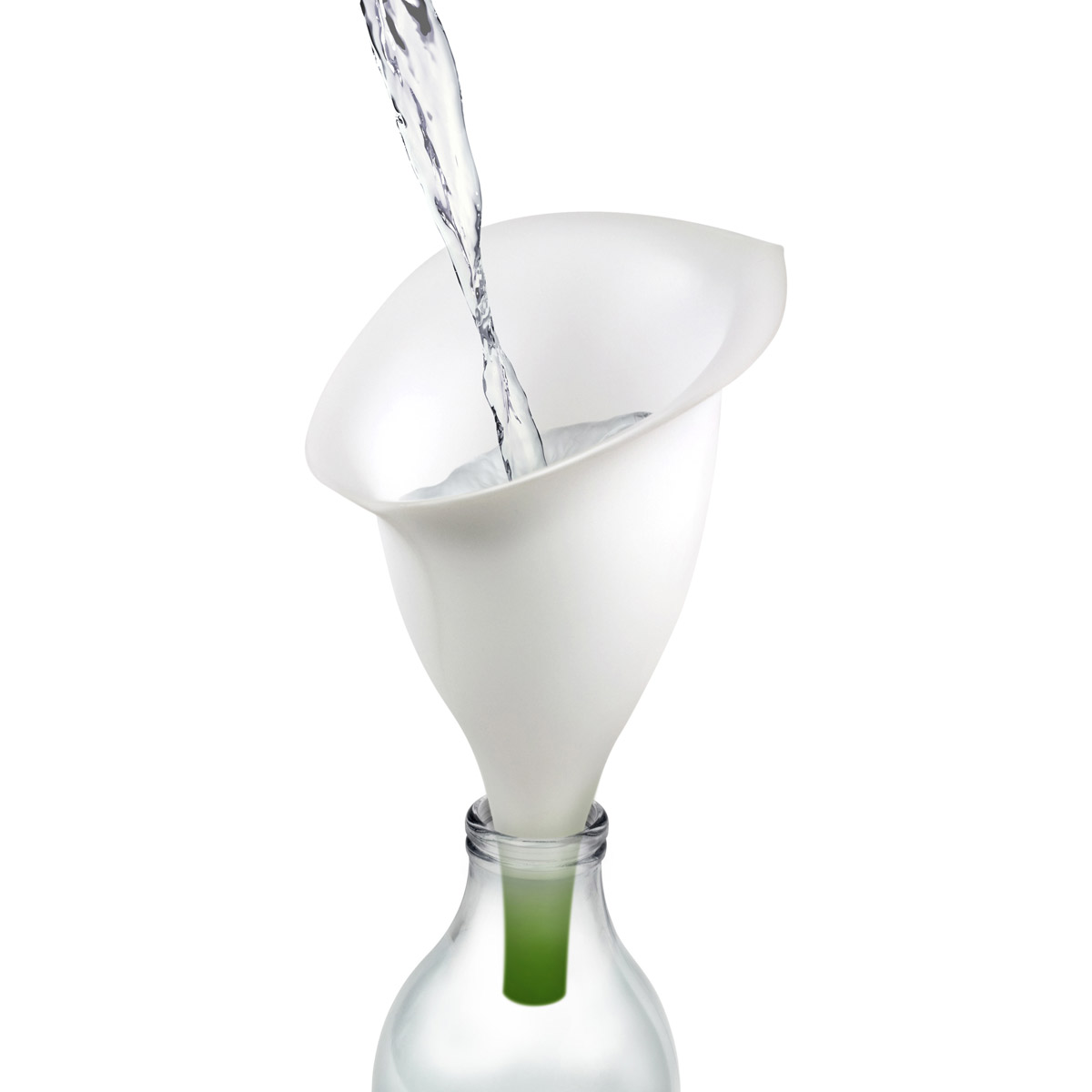 Fill-A-Lily - Silicone Flower Funnel - The Green Head