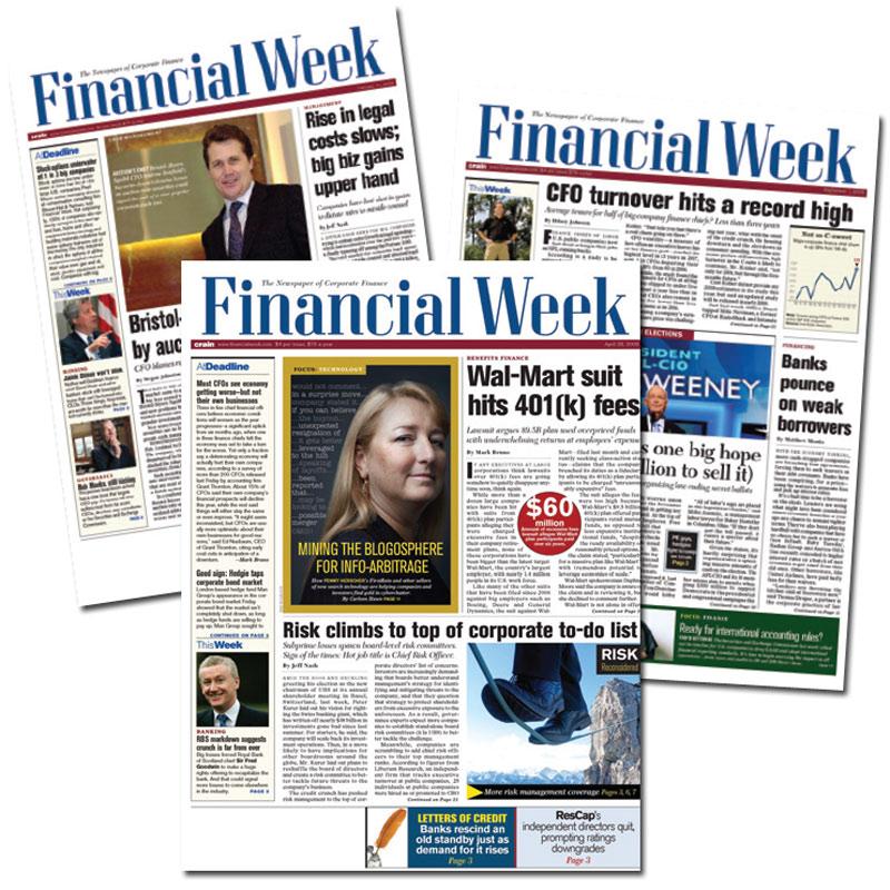 FREE - Financial Week - Newspaper of Corporate Finance - The Green ...