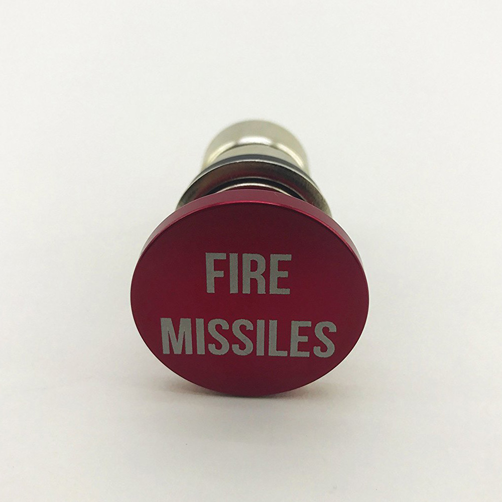 8e92387edb6f Fire Missiles Button - 12-Volt Car Cigarette Lighter