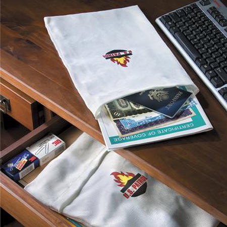 Fire Resistant Document Bags The Green Head