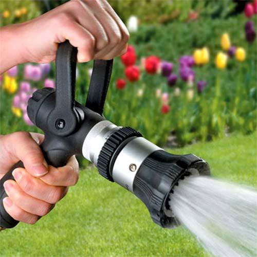 garden hose spray nozzle. Fireman\u0027s Hose Nozzle - Ultimate Sprayer Garden Spray