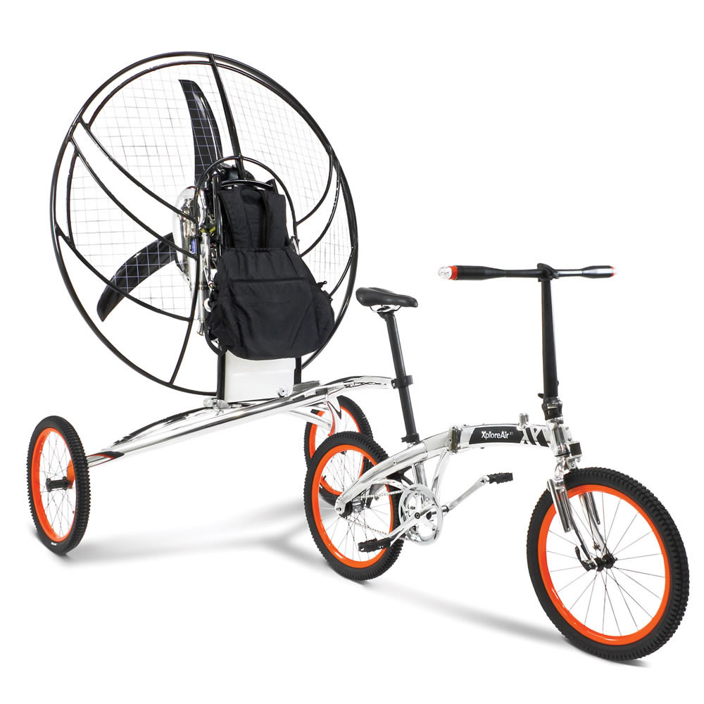 ExploreAir X1 - World's First Flying Bicycle - The Green Head
