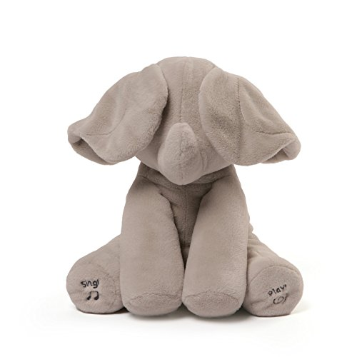 Flappy The Elephant Animated Plush Sings And Plays Peek A Boo