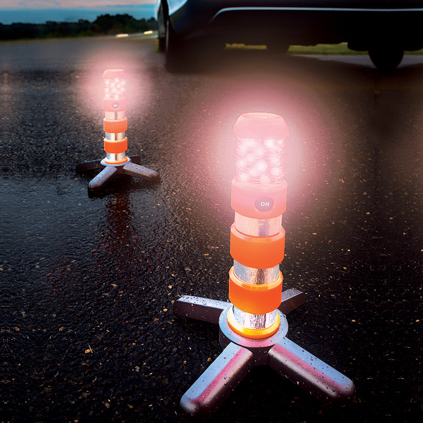 Flash Flare Roadside Electronic Flare Kit The Green Head