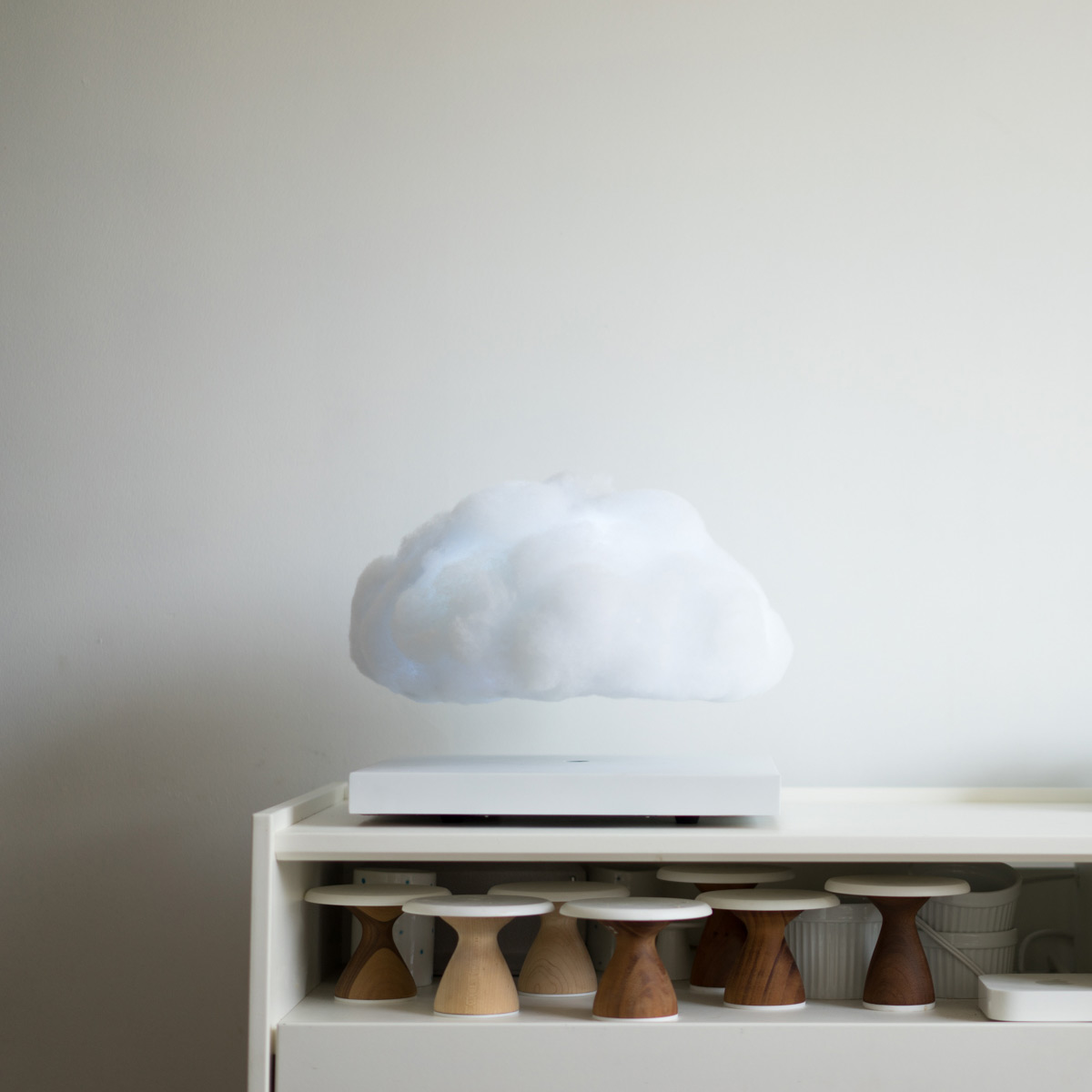 levitating furniture. Floating Cloud - Magnetically Levitating Lamp Furniture A
